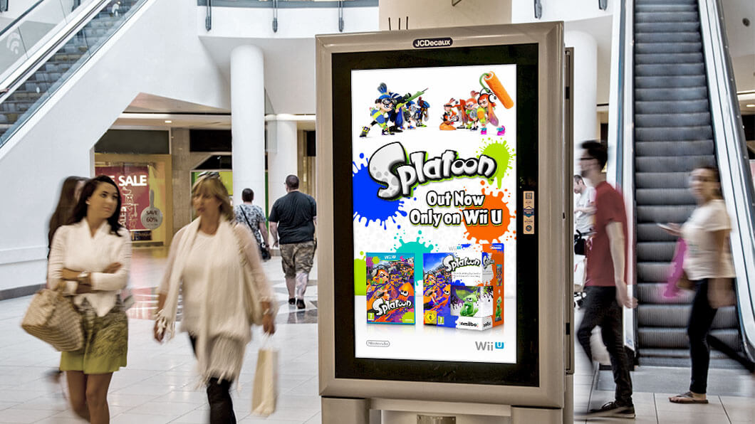 Home page takeovers, DOOH and mobile